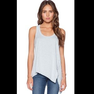 Wilt Slit Tank in Distressed Mist